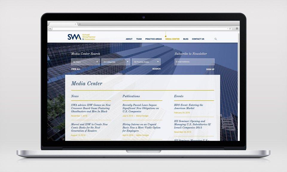 SWA & Associates - Studio Dinitz